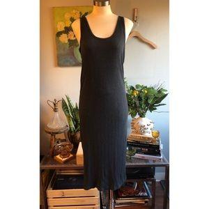 LOVE by GAP Ribbed Midi Tank Dress